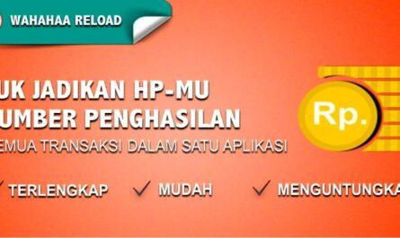 wahahaa reload - semua transaksi dalam satu aplikasi