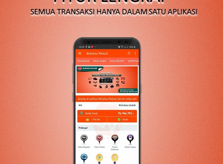 Launching Aplikasi Wahahaa Reload
