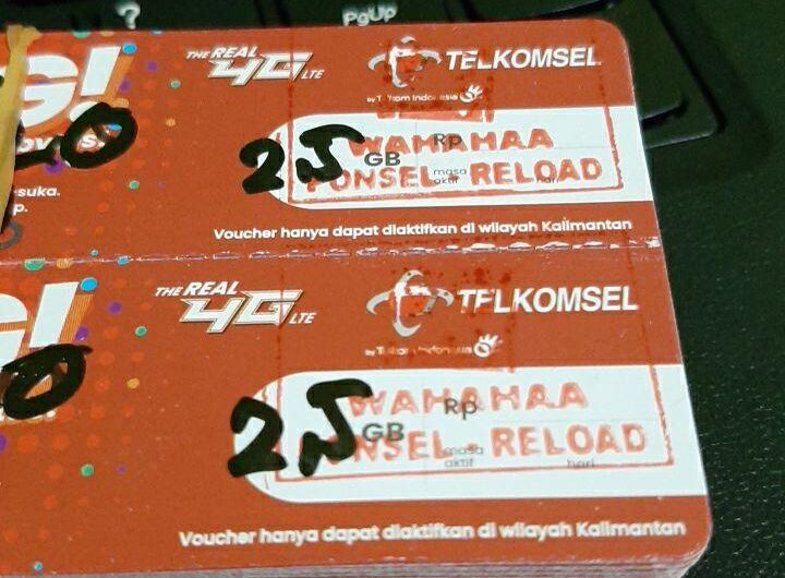 Voucher Data Internet Telkomsel